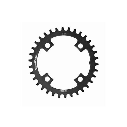 Sun Race MTB Front Single Chain Ring Narrow Wide Thick Thin 34T Steel