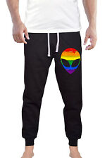 Mens Love Always Wins KT T12 Black Fleece Jogger Sweatpant Gym Shorts Large Black