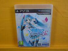 Ps3 Hatsune Miku Project Diva F 2nd Playstation PAL Reino Unido versión en inglés