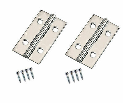 Type 1838 Fixed Pin Butt hinges  Various Sizes /& Colours sold as 10 pairs