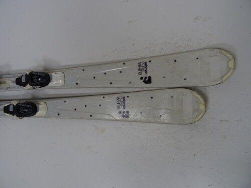 Ski Salomon Salomon Salomon Pure Weiß mit Bindung, 151cm (DD701) 7cc9de