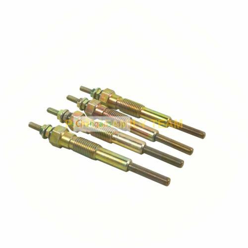 12V 4D95L Engine Plug Glow Set for Komatsu 4D95L FD25T-11 FD30-11 Forklift #8 ZX