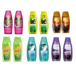 2-X-Avon-Senses-Shower-Gel-Creme-Twin-Pack