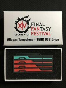Details about Final Fantasy XIV Fanfest 2016-2017 Allagan Tomestone 16GB  USB Drive   New  
