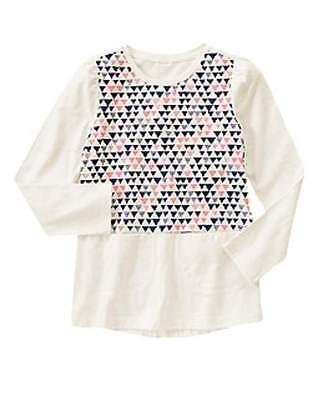 NWT Gymboree Girls Polar Pink Navy Pink White Dress Size 4