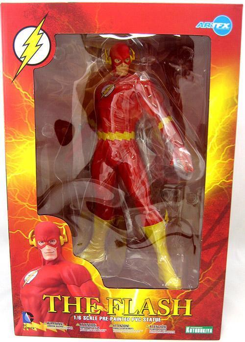 DC Kotobukiya Artfx+ The Flash 1 6 Scale Statue