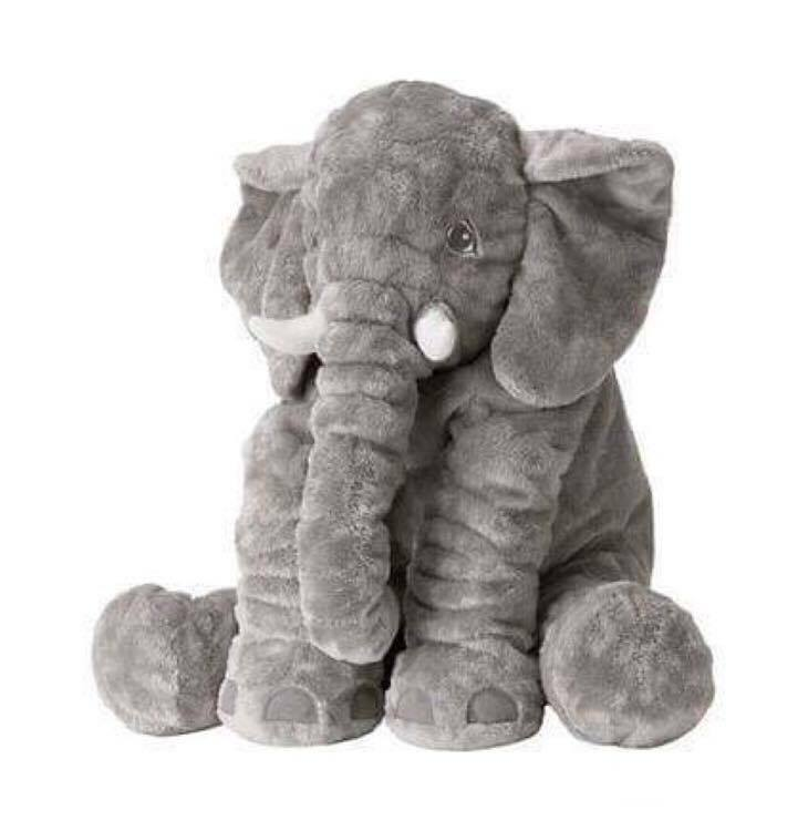 IKEA JÄTTESTOR SOFT TOY TOY TOY ELEPHANT PLUSH STUFFED ANIMAL 60 cm 3b6d8d