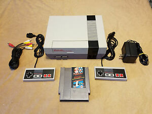 Nintendo nes classic game console system w super mario bros new 72 pin - Super nintendo classic game console ...