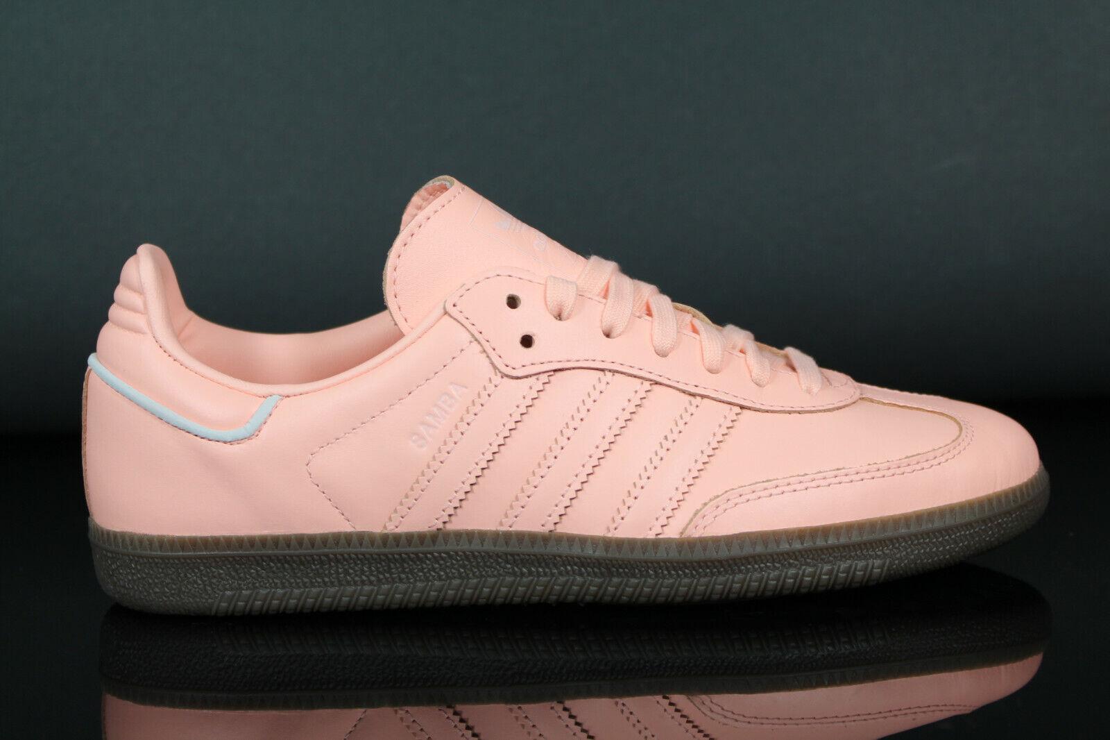 Neu adidas Originals Samba OG W Damen Turnschuhe Sportschuhe Schuhe B44691 Leder