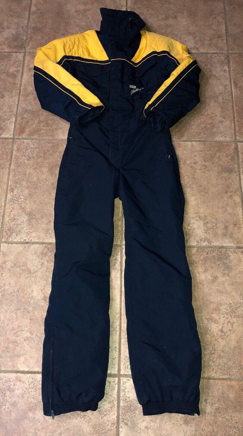 Gelb Blau Navy Mens Gore Tex Robbe Suit Ski 523afebec4924