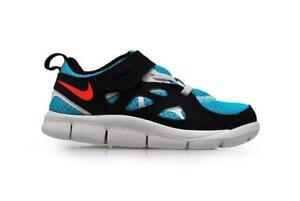 6d967f308fc1 Infants Nike Free Run 2 (TDV) - 443744 460 - Turquoise Blue Crimson ...