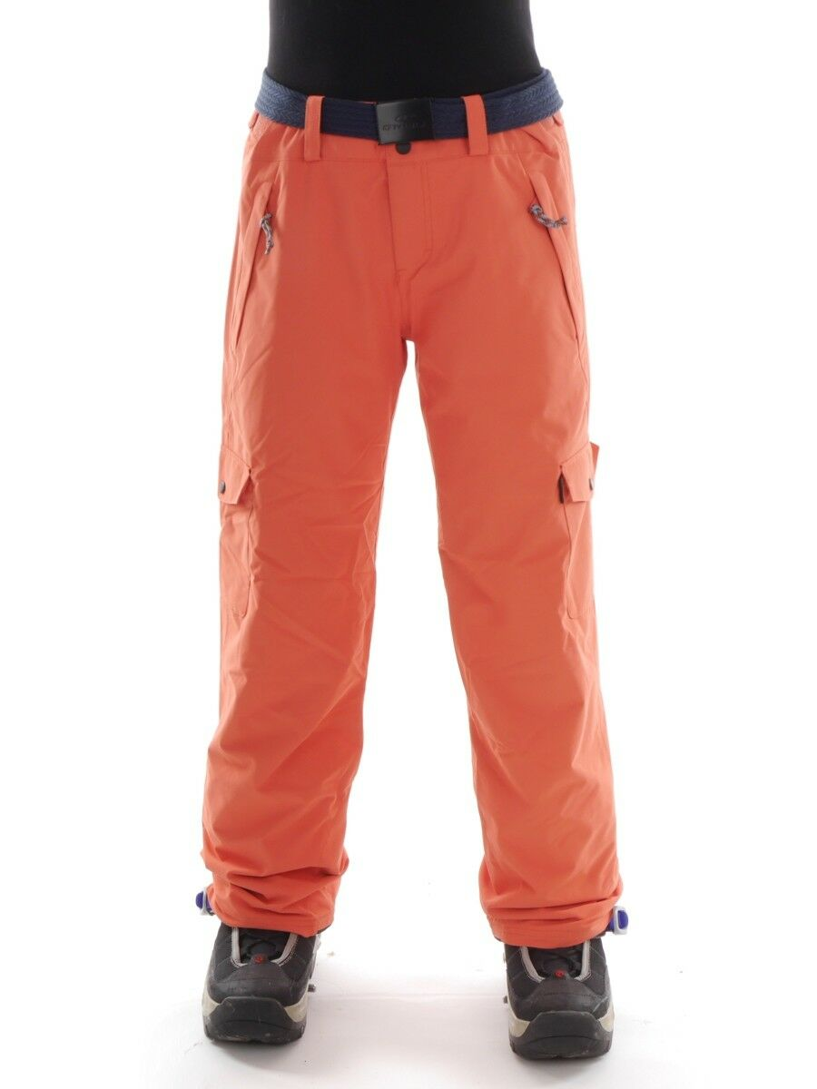 O'Neill Ski Trousers Snowboard Warm Pants Star orange Belt Water Resistant