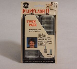 Flashbulbs Flip Flash  GE Twin Pack, K-Mart Focal 18 total flashes