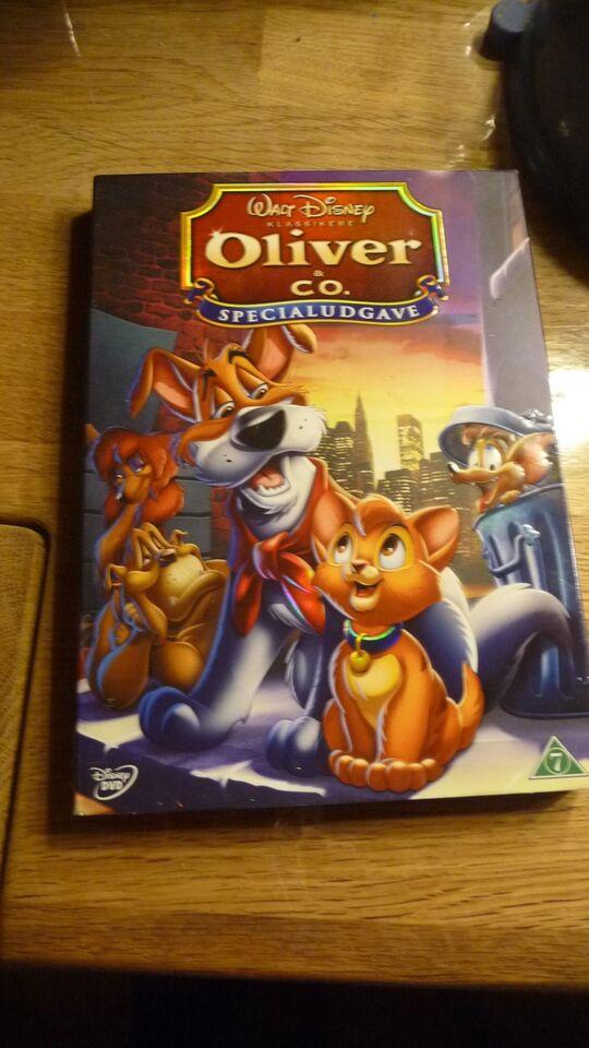 Oliver & Co Specialudgave, DVD, tegnefilm