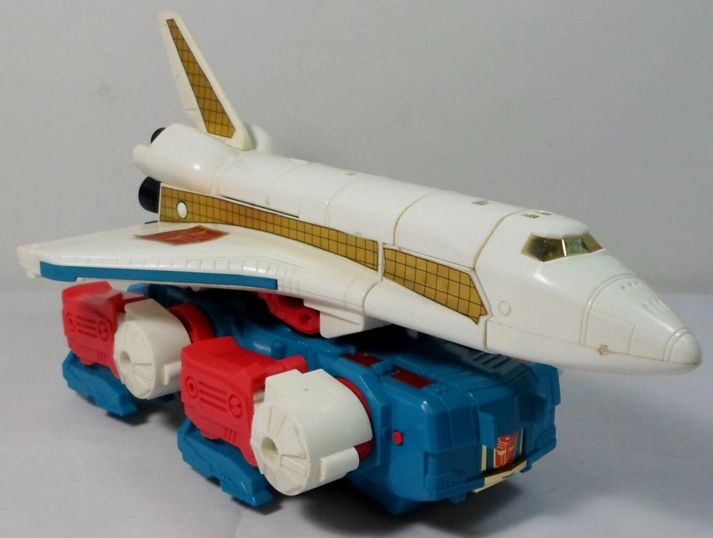 Niño Vtg 1986 Transformers G1 Sky Lynx 100% Robot