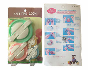 POMPOM-MAKER-MAKES-4-SIZES-FLUFF-BALL-NEEDLE-KNITTING-CRAFT-SET-BOBBLE-DIY-TOOL