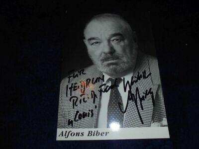 Alfons Biber
