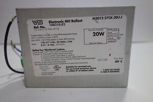 V S M 2012 27CK 3 EU BALLAST Electronic 20 WATT Metal Halide 120/277 volt