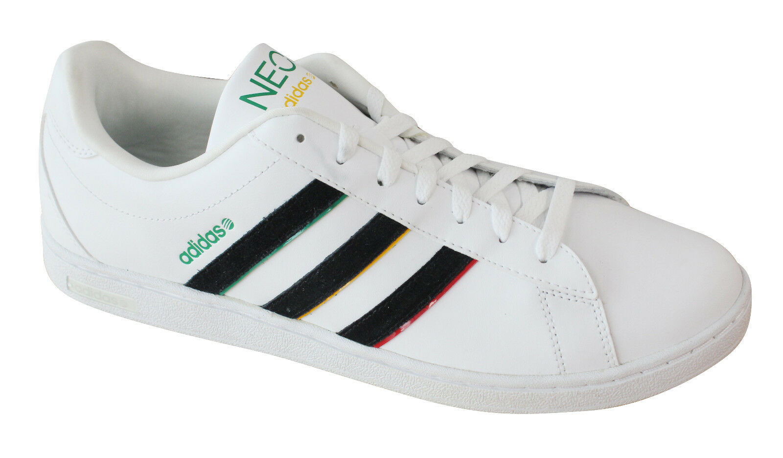 Bdidas Neo Derby Casual Mens Trainers In White/Black X73540 U69