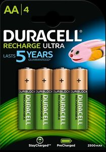 Duracell-Rechargeable-Ultra-AA-x-4-2500-mAh-1-2V-LR06