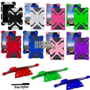 For-Various-7-034-8-034-Tablet-Universal-Shockproof-Silicone-Stand-Cover-Case-Pen