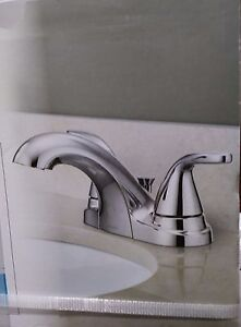Moen Adler Chrome 2 Handle Bathroom Faucet #84603 26508271759 | eBay