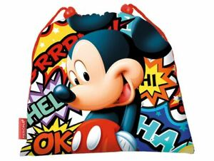 Mickey-Mouse-MC-55659-2018-Bolsa-de-Cuerdas-para-el-Gimnasio-40-cm-Multicolor