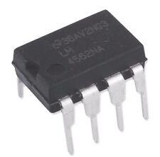 30PCS National Semiconductor LM4562NA LM4562 Dual OpAmp DIP-8 - New IC