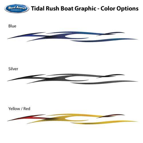 Tidal Rush Boat Graphics Kit