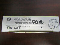 Allen Bradley Auxiliary Switch 195 Ga01 Series A