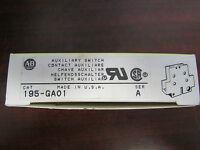 Allen Bradley Auxiliary Switch 195 Ga01 Series A