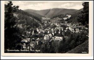 Sitzendorf-Thueringen-DDR-Ansichtskarte-Postkarte-1959-Gesamtansicht-ungelaufen