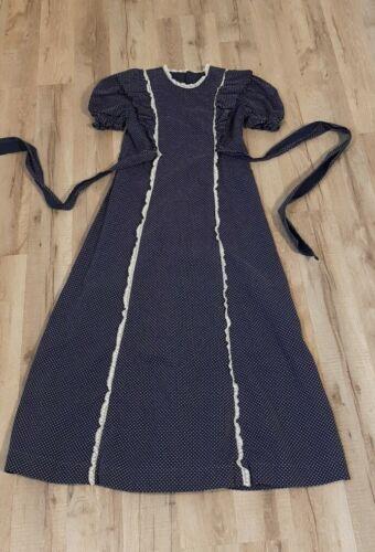 Vintage 60s 70s Girls Prairie Dress Cottagecore