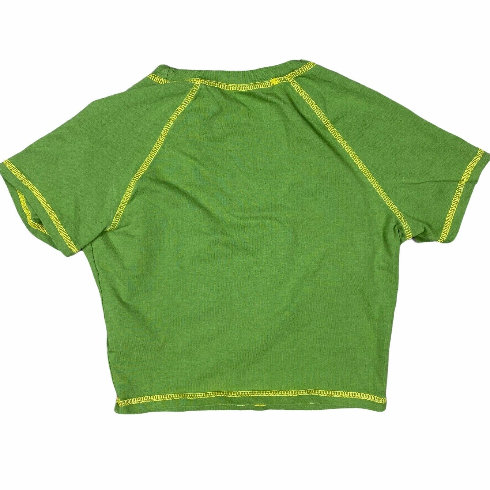 Vintage 90s Y2K Style Green Fairycore Grunge Cybe… - image 8