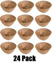 (24) Ea Panacea 88594 18 Planter Replacement Coco Coconut Liner