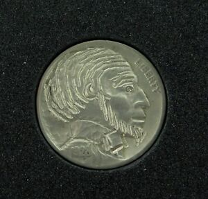 HOBO-NICKEL-1928-ABRAHAM-LINCOLN-SIGNED-by-J-ALLEN-10