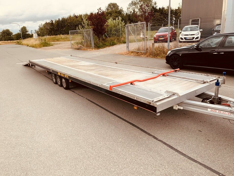 Autotrailer, Fit-zel Duo, lastevne (kg): 2700