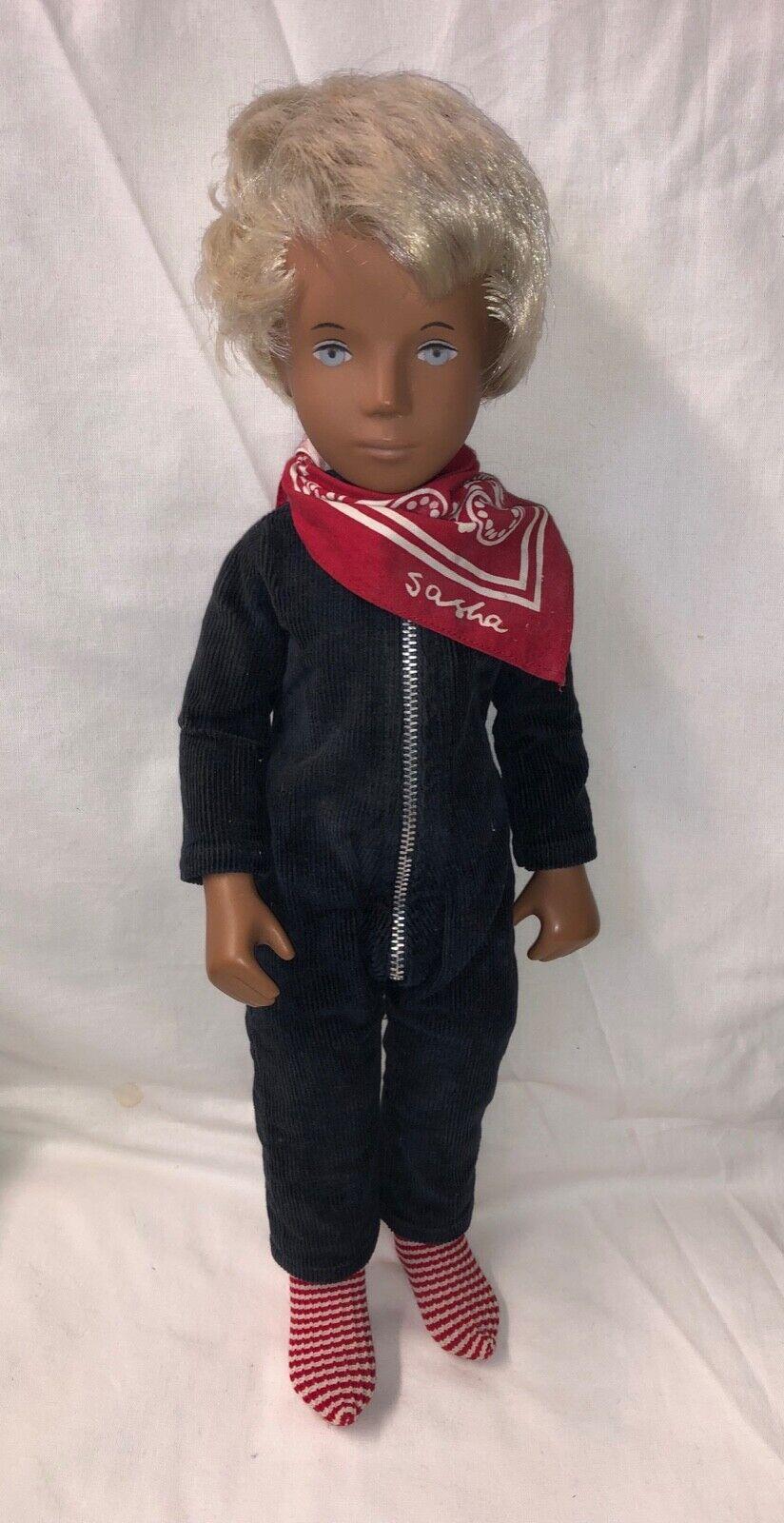 Sasha Morgenthaler doll blonde Gregor, good condition.
