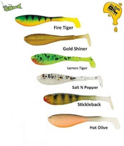 Perch Bass Fox Rage Micro Fry 4cm Fishing Lure// Pike Softbaits Fish Snax
