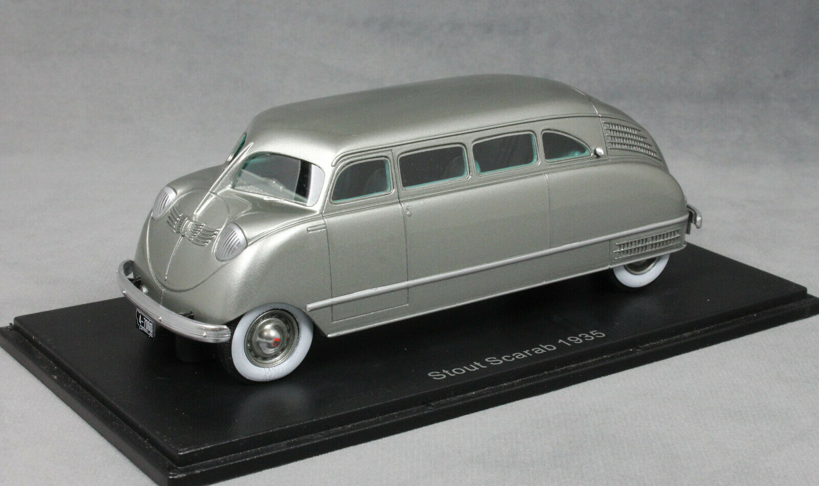 NEO Models STOUT SCARAB in argento 1935 47060 1/43 NUOVO
