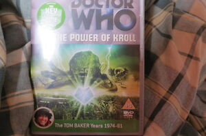 Doctor-Who-The-Power-of-Kroll-Special-Edition-VGC-CONDITION-dispatch-24hrs