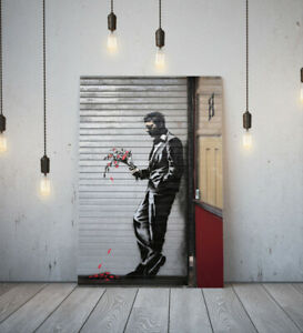 BANKSY JILTED LOVER -DEEP FRAMED CANVAS GRAFFITI WALL ART PICTURE PAPER PRINT-
