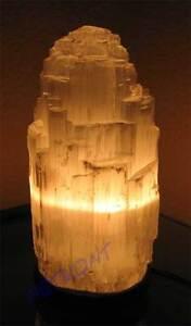 Lampe-Selenit-Kaskade-XXL-Tischleuchte-Nachttischlampe-ca-5kg-ca-14x35cm-NEU