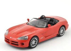 DieCast-Modellauto-1-43-Agostini-Dodge-Viper-SRT-10-rot