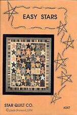 EASY STARS Quilt Pattern by Star Quilt Co. - Linda Brannock