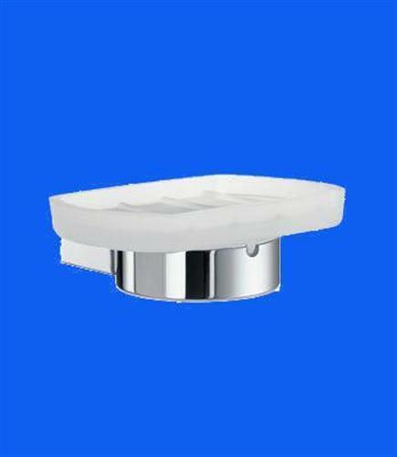 Smedbo Air Seifenschalenhalter Glas matt AK342 Chrom Retourenware