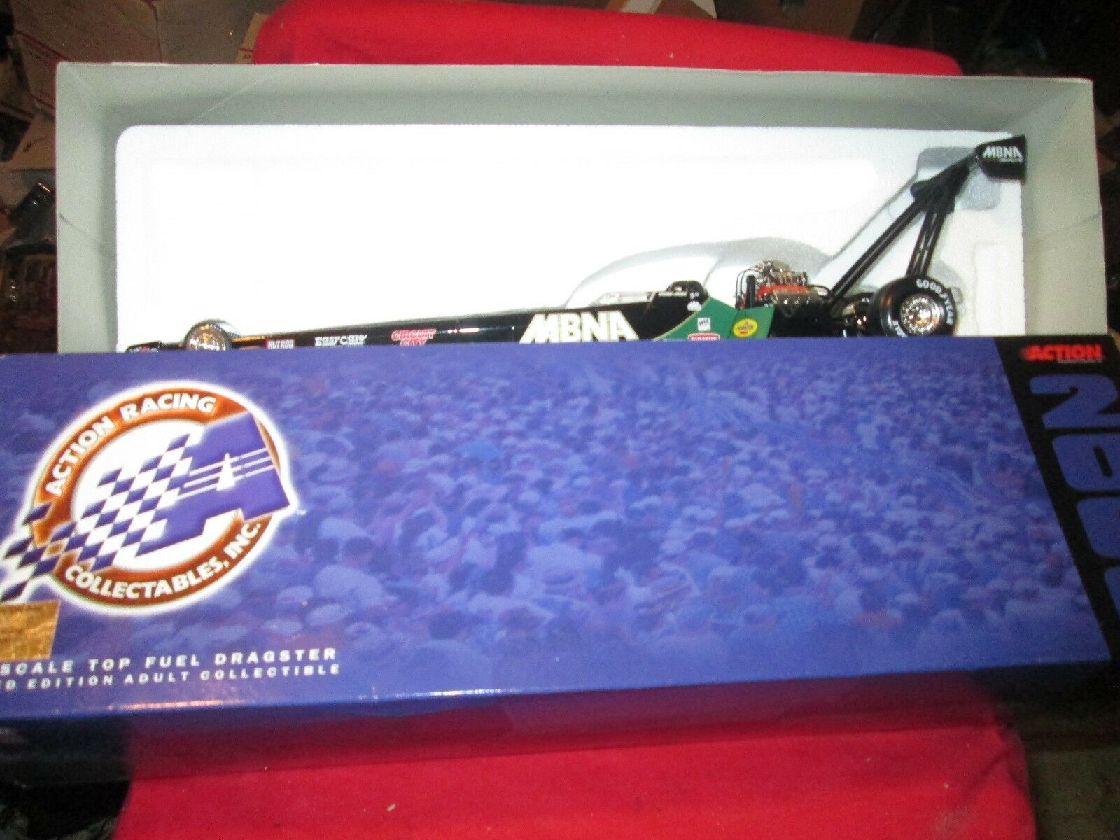 Cory McClenathan top fuel Dragster action  1 24 Scale 16  NHRA 2000 1 of 4,008