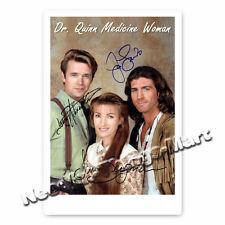 Dr. Quinn Jane Seymour & Joe Lando Autogrammfotokarte 