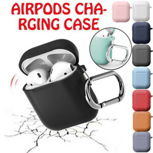 For Airpod For Apple Airpods Charging Case Holder Clip Silicone Cover Key Chain Ebay