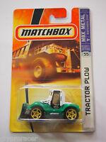 Matchbox Tractor Plow 55 Farm Plow Lil Mule